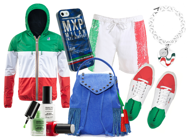 Brasile 2014 i gadget pi originali dedicati ai mondiali foto - Costume da bagno tricolore ...