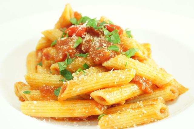 Penne all 39 arrabbiata la ricetta tradizionale della cucina romana - Antipasti cucina romana ...