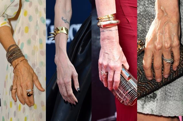 Le 10 star con le mani pi brutte foto - Bagni di paraffina alle mani ...