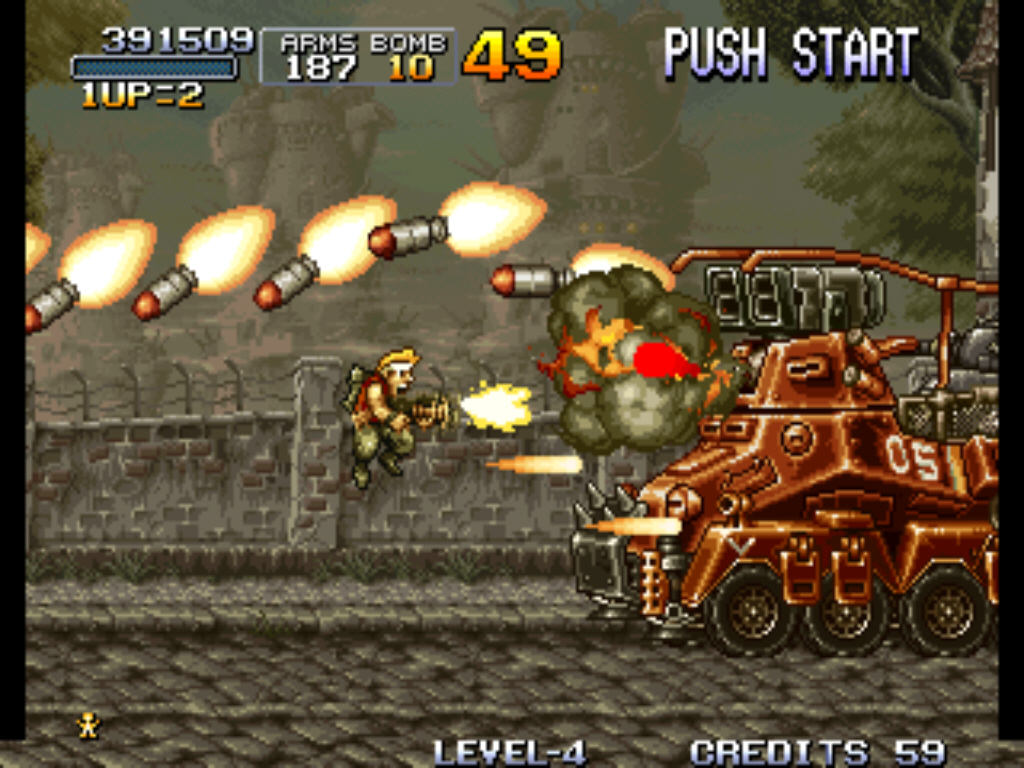 Metal Slug Web Game