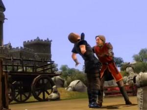The Sims Medieval, una scena del gioco della Ea