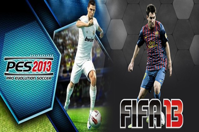 PES 2013 - FIFA 13