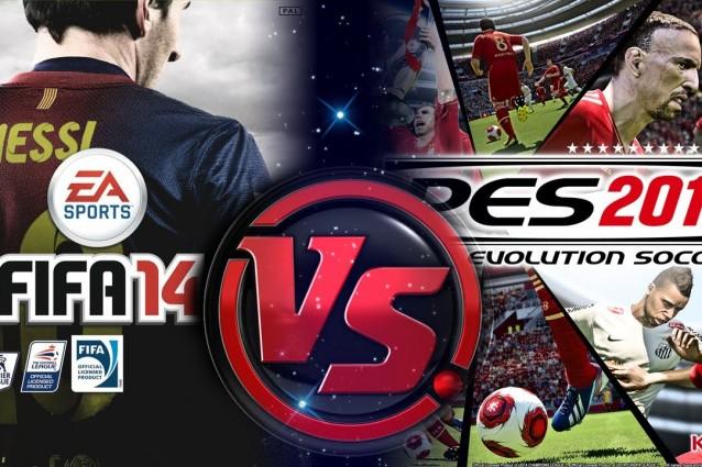 FIFA 14 vs PES 2014 : Konami lancia la sfida ad Electronic Arts [VIDEO]
