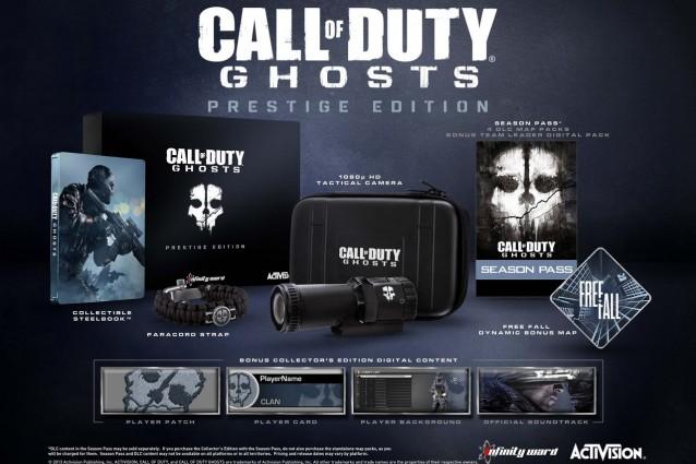 Svelate le edizioni Hardened e Prestige di Call of Duty: Ghosts [VIDEO]