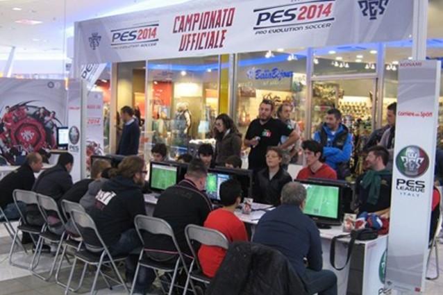 PES League 2014, il campionato ufficiale di PES 2014 con tornei in tutta Italia