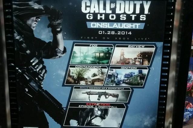 Call of Duty Ghosts Onslaught, tutti i dettagli del nuovo DLC [FOTO]