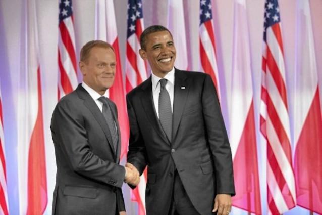 Obama e Tusk