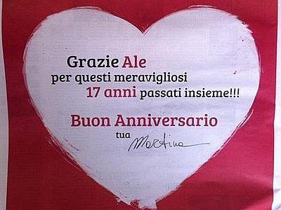 Anniversario Di Matrimonio 17 Anni.La Colombari Dedica Pagina Sul Corriere A Costacurta Buon