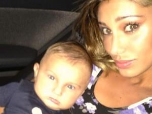 """Belén e il piccolo Santiago: """"Mio figlio ha lo sguardo da seduttore"""""""