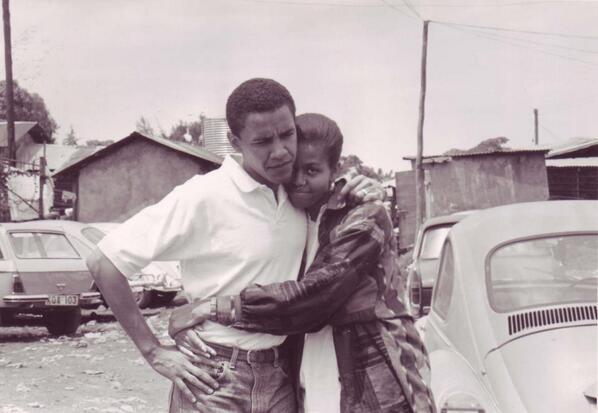 Una delle foto pubblicate su Twitter da Michelle Obama.