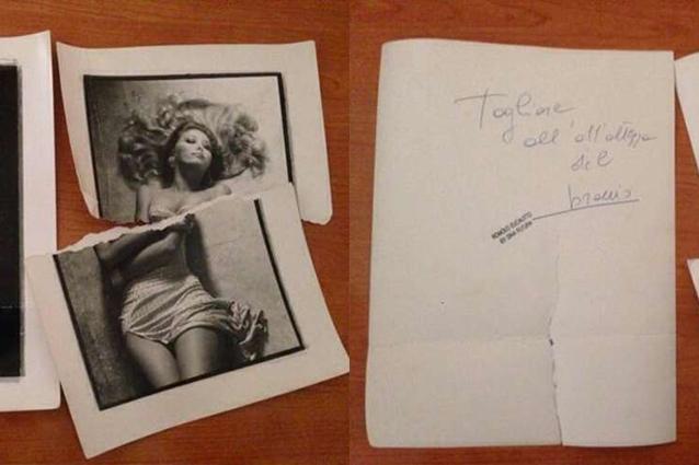 Il mistero delle foto strappate e autografe di moana pozzi fino al 2001 erano intatte - Diva futura rome ...