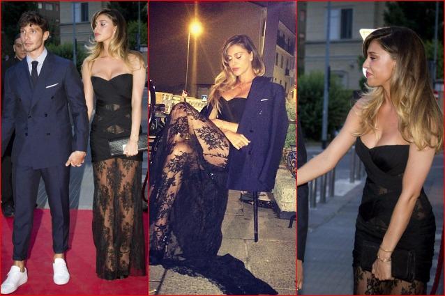 4163669b8248 Vestito nero belen rodriguez – Abiti alla moda