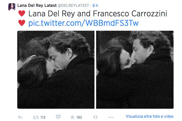 Lana Del Rey sta con Francesco Carrozzini, figlio della direttrice di Vogue