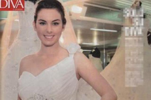 Micol Azzurro Matrimonio : Micol olivieri e christian massella sposi a roma foto