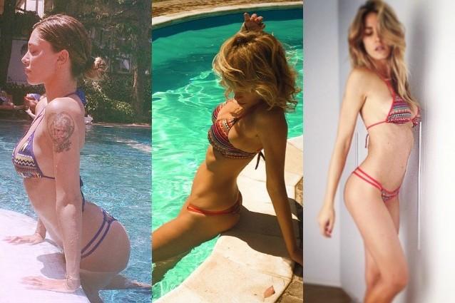 Costumi Da Bagno Bikini 2014 : Santarelli canalis marcuzzi: tutte pazze per i bikini di belén