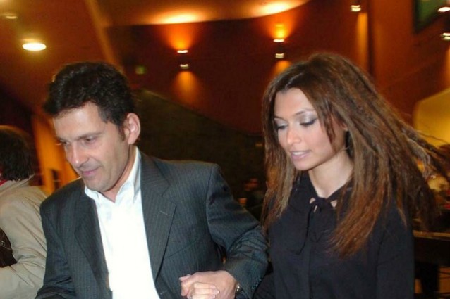Fabrizio Frizzi e Carlotta Mantovani sposi dopo 12 anni di fidanzamento
