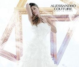 Belen Rodriguez Alessandro Couture