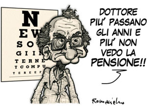 Sempre più difficile arrivare alla pensione... e quando ci si arriva...