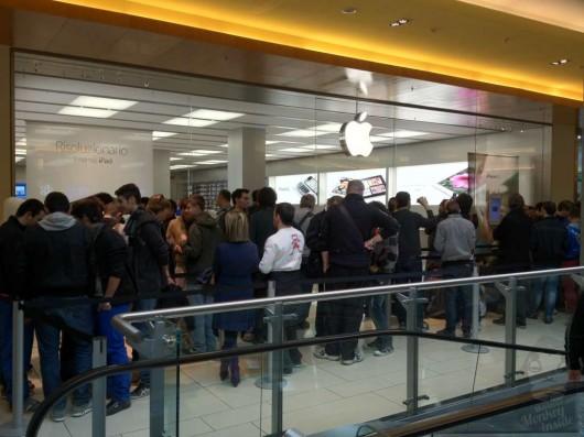 Inaugurato il 10 apple store italiano a porta di roma - Apertura porta di roma ...