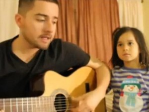 papà chitarra