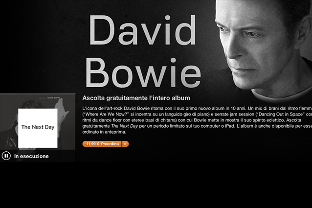 The next day david bowie download free