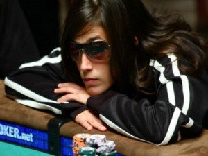 La poker player spagnola Leo Margets