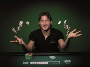 Totti testimonial di Party Poker