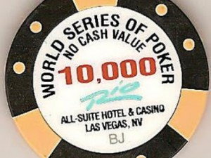 WSOP chip for sale