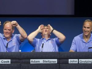 Richard Cook, Adam Steltzner, John Grotzinger