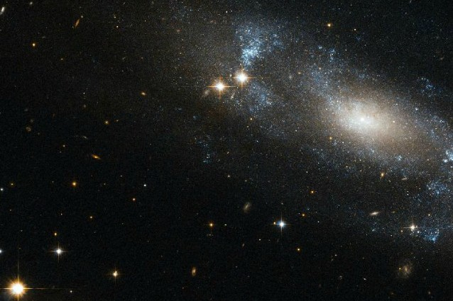 hubble galassia a spirale