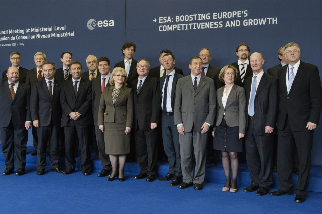 ITALY-SPACE-ESA-MEETING