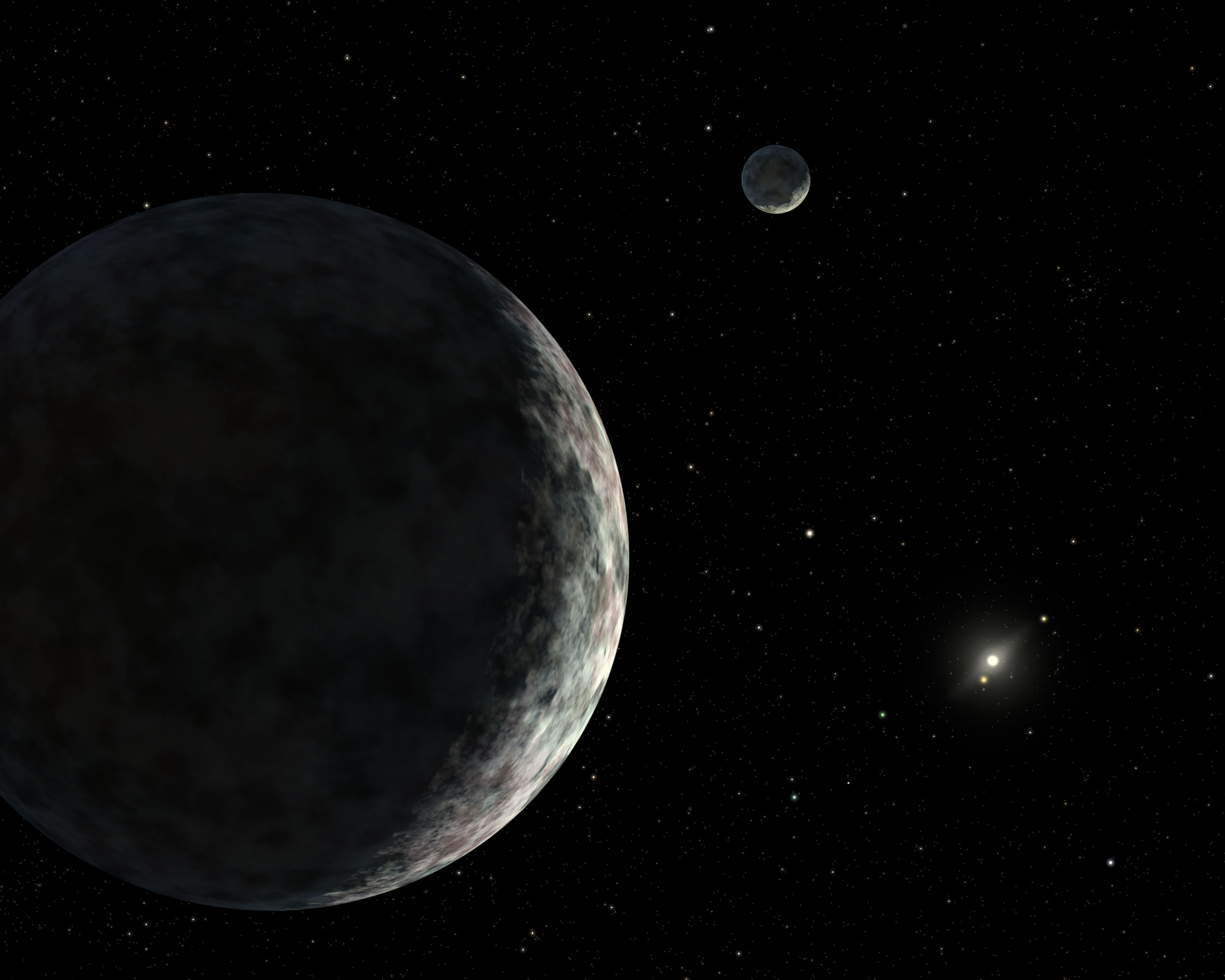dwarf planet eris - HD 1200×960