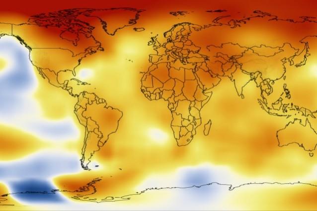 riscaldamento globale 2012 anno record