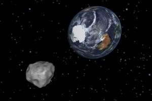 Asteroide in passaggio vicino alla terra