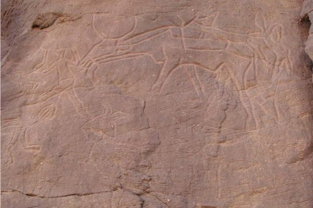 antichi sacrifici nel sahara di settemila anni fa