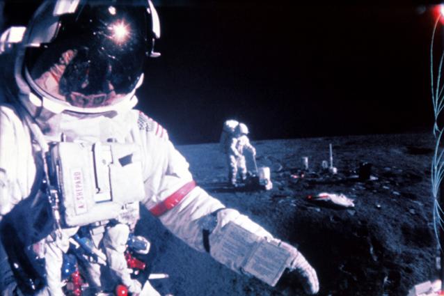 lastronauta che cammin242 sulla luna sugli alieni 232 il