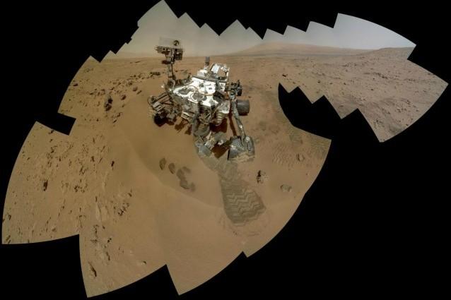Curiosity ha trovato l'acqua sul suolo di Marte