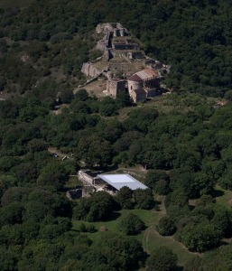 Al di sotto di un villaggio medioevale georgiano, il sito di Dmanisi