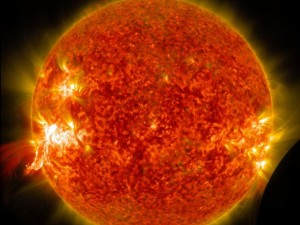 """La straordinaria """"eclissi"""" solare di cui nessuno si è accorto (VIDEO/FOTO)"""