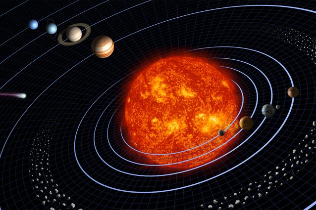 Il Sistema solare (immagine Nasa)