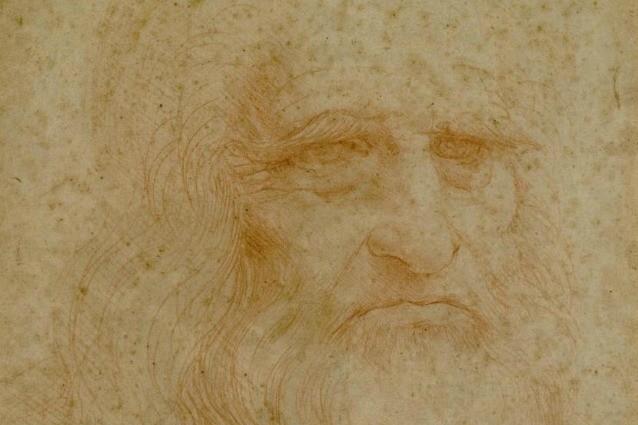 L'autoritratto di Leonardo da Vinci sta svanendo