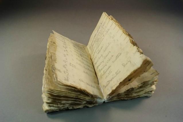 Un diario nascosto dai ghiacci da un secolo.