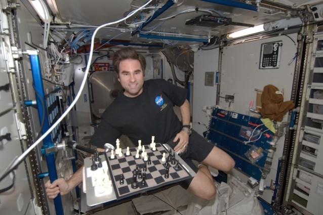 Vita spazio ISS