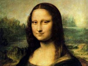 la gioconda quadro ad olio di Leonardo da Vinci