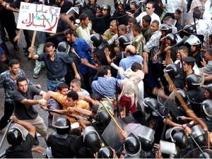 Egitto: proteste contro Mubarak