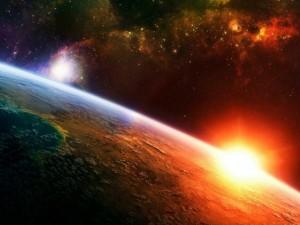 la terra vista dallo spazio