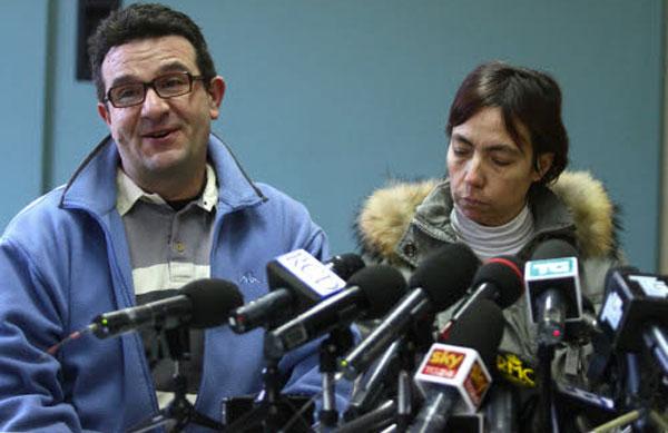 Fulvio e Mara Gambirasio, i genitori di Yara