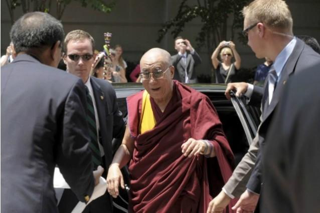 Il Dalai Lama visita gli USA