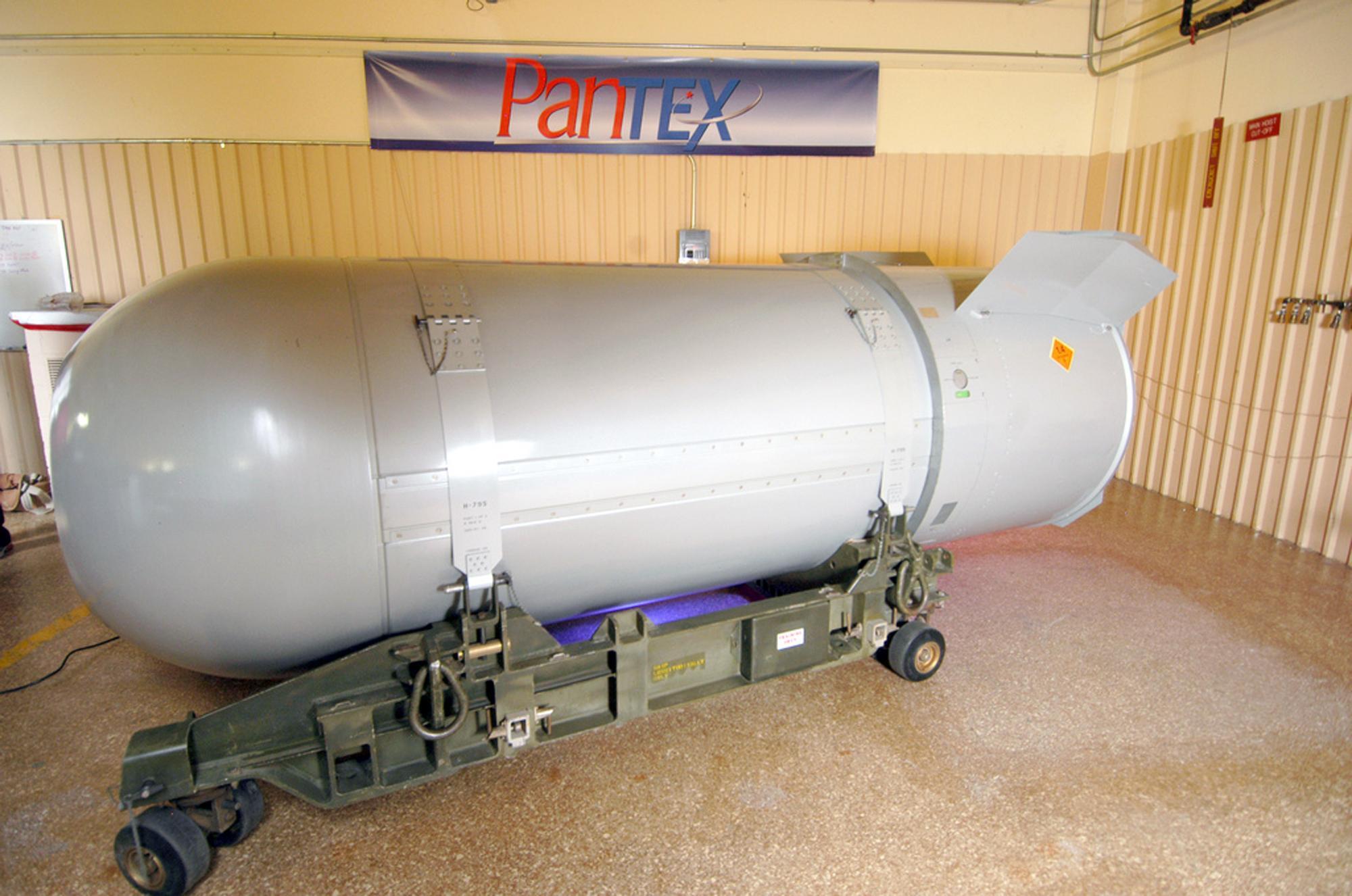 Addio alla b53 l 39 ultima mega bomba nucleare americana for Piani di fattoria americana