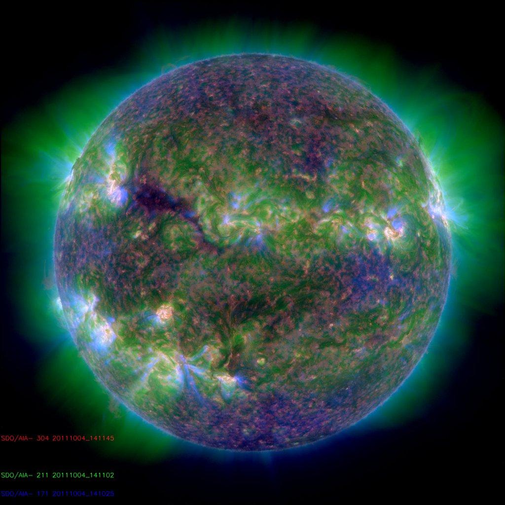 il funzionamento della stella incandescente visto dalla NASA